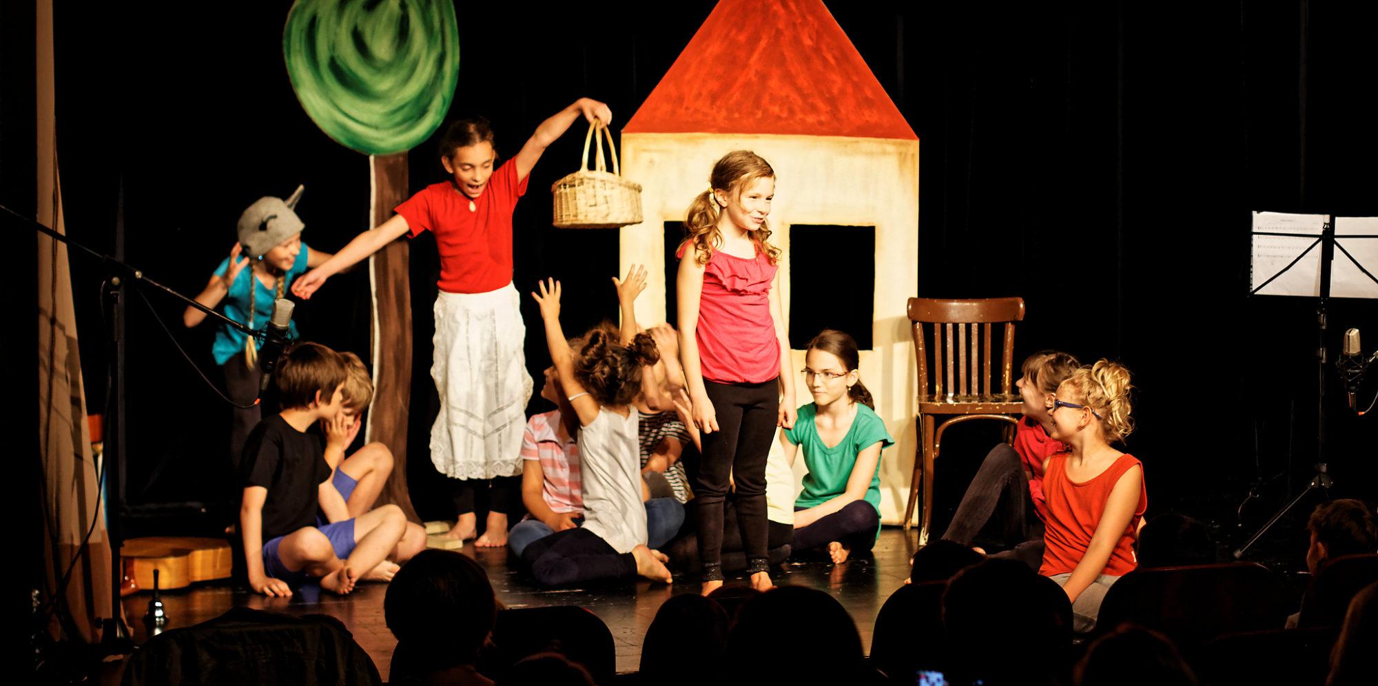 Děti a Divadlo